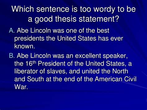 Thesis on abraham lincoln jpg 728x546